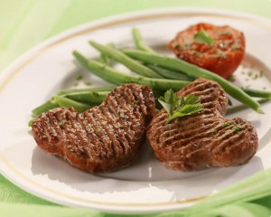 steak hache coeur